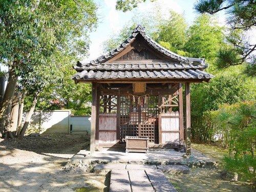 法華寺 稲荷神社の画像