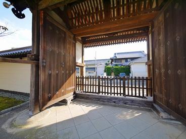 法華寺 南大門の画像3