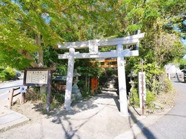 狭岡神社 鳥居の画像2