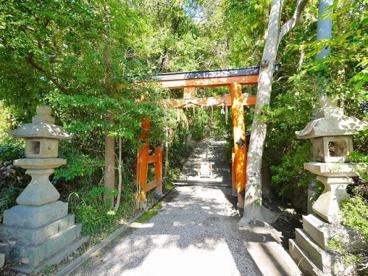 狭岡神社 鳥居の画像4