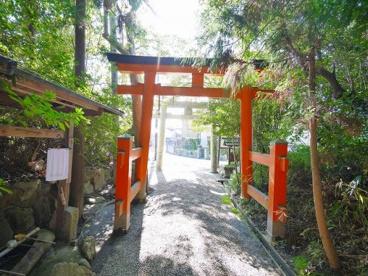 狭岡神社 鳥居の画像5