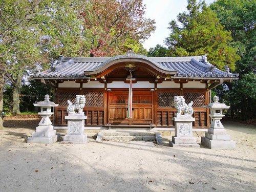 山邊御縣神社(やまべのみあがたにますじんじゃ)の画像