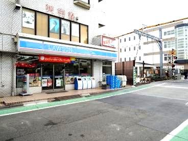 ローソン 東門前駅前店の画像1
