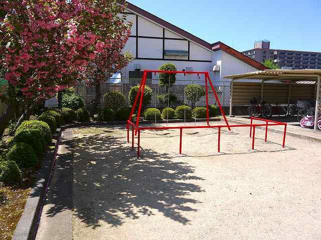日興奈良杉ケ町スカイマンション公園の画像