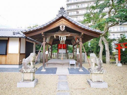 十五所神社(西大寺北町)の画像