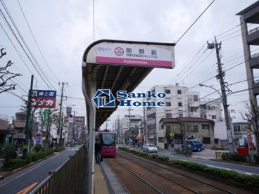 熊野前駅の画像1