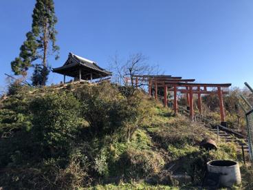 森常稲荷神社(ベンショ塚古墳)の画像1