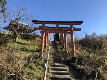 森常稲荷神社(ベンショ塚古墳)の画像2