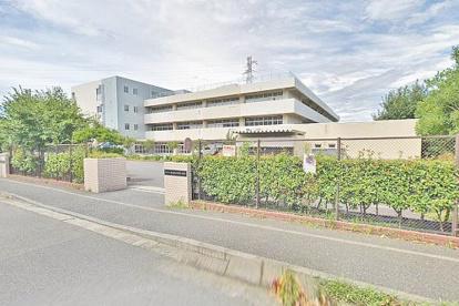 横浜市立東山田中学校の画像1