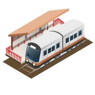 山陽網干駅の画像1