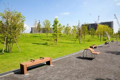 葛飾にいじゅくみらい公園運動場テニスコートの画像1