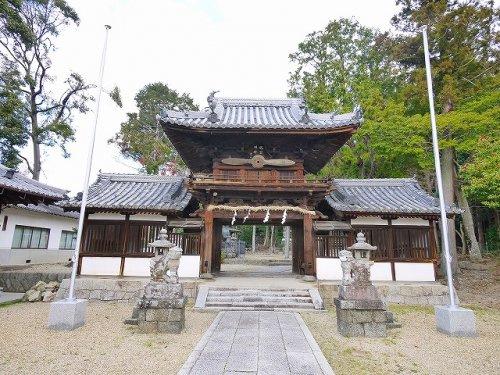 矢田坐久志玉比古神社(やたにますくしたまひこじんじゃ)の画像