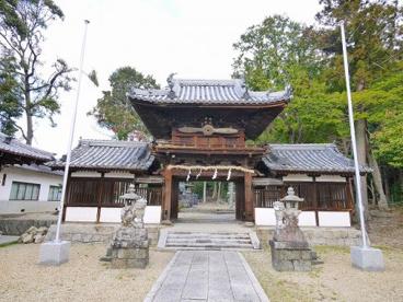 矢田坐久志玉比古神社(やたにますくしたまひこじんじゃ)の画像1