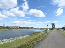 多摩川 河川敷