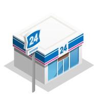 ローソンストア100 高浜湯山町店の画像1