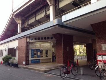 関西本線「東部市場前」駅の画像1