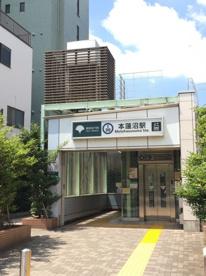 本蓮沼駅の画像1