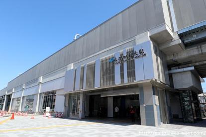JRおおさか東線「衣摺加美北」駅の画像1