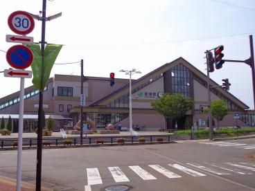 JR新津駅表の画像1