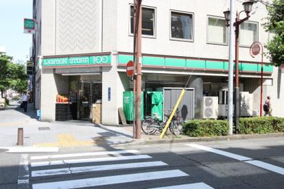 ローソンストア100 LS栄三蔵通店の画像1