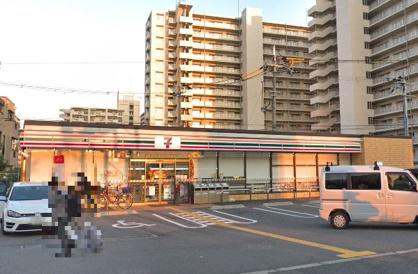 セブンイレブン大阪長原駅北店の画像1