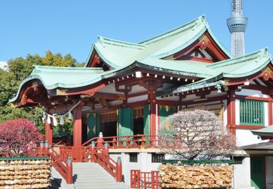 亀戸天神社の画像1
