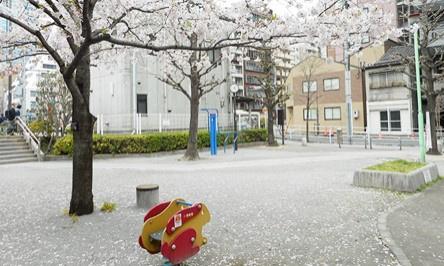 浜松町四丁目児童遊園の画像