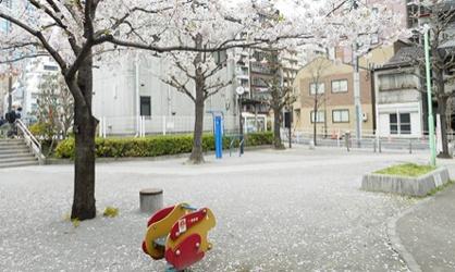 浜松町四丁目児童遊園の画像1