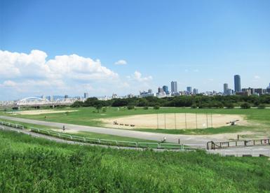 淀川河川公園西中島地区野球場の画像1