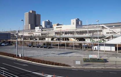 JR宇都宮駅東口ロータリーの画像1