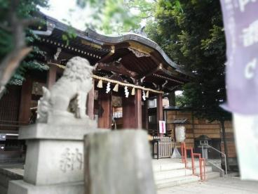 中目黒八幡神社の画像1