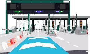 中央自動車道 一宮御坂IC 上り 入口の画像1