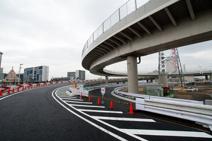 神奈川1号横羽線 大師 上り 出口