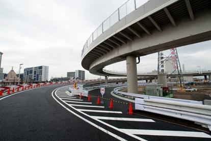 神奈川1号横羽線 大師 上り 出口の画像1