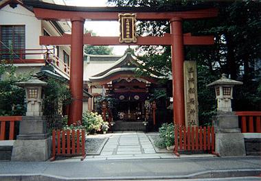 三崎稲荷神社の画像1