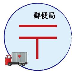 高塚駅前郵便局の画像1