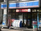 ローソン  新宿新小川町