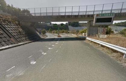 南九州西回り自動車道(市来-鹿児島西) 松元IC 下り 入口の画像1