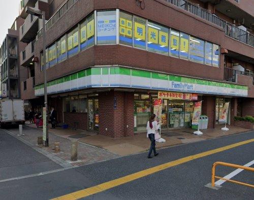 ファミリーマート王子明治通り店の画像