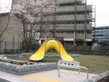 世田谷電車のみえる公園の画像1