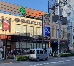 ライフ 若松河田駅前店の画像1