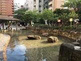 渋谷区立広尾公園じゃぶじゃぶ池
