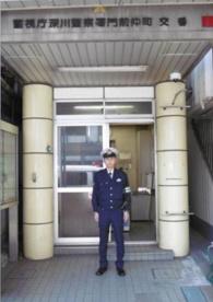 門前仲町駅前交番の画像1