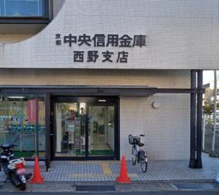 京都中央信用金庫西野支店の画像1