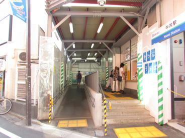 西武新宿線 中井駅の画像3