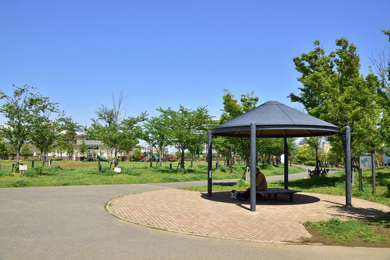 広尾防災公園の画像