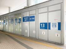 たまプラーザ駅 羽田空港行きバス乗り場