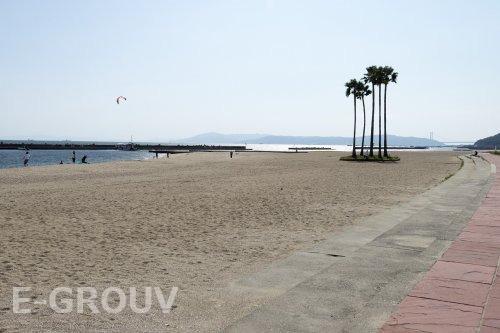 須磨海岸の画像