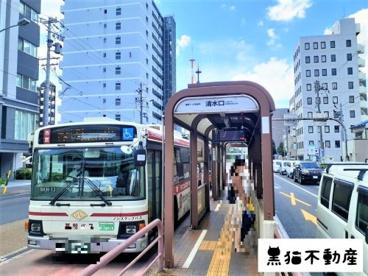 基幹バス停留所 清水口の画像1