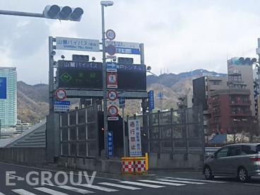 山麓バイパス「新神戸トンネル」入口の画像1